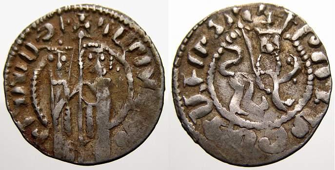 Tram 1226 - 1270 Armenien Hetoum I. und Zabel, 1226 - 1270. Sehr schön