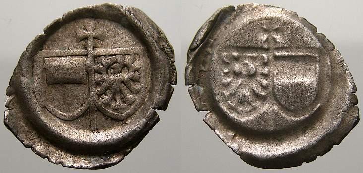 Hohlpfennig 1513-1545 Magdeburg, Erzbistum Albrecht IV. von Brandenburg 1513-1545. Sehr schön+