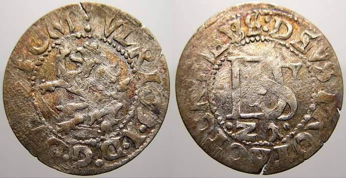 Doppelschilling 1621 K Pommern-Cammin, Bistum (Kamien Pomorski) Ulrich 1618-1622. Sehr schön+