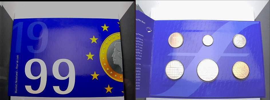 8, 90 Gulden 1999 Niederlande Beatrix 1980-2013. Stempelglanz