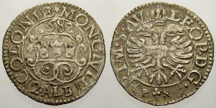 2 Albus 1682 Köln, Stadt Sehr schön