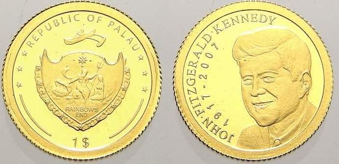 1 Dollar 2006 Palau Polierte Platte