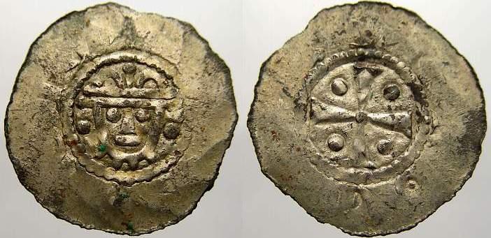 Pfennig 1059-1086 Jever, herzoglich billungische Münzstätte Hermann 1059-1086. Sehr schön+
