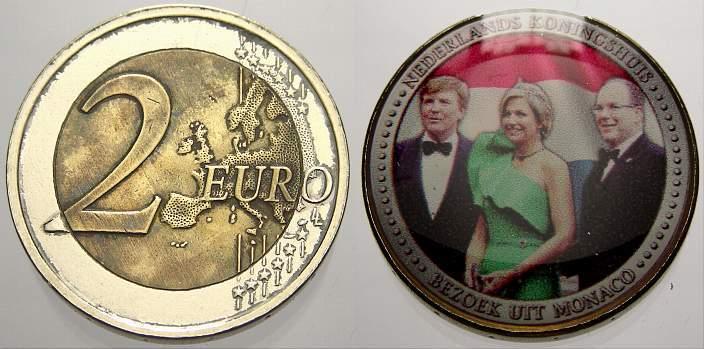 2 Euro Niederlande unzirkuliert