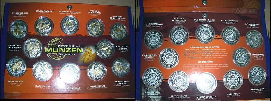 10 Dollars 2006 Liberia Liberia Republik Seit 1847 Polierte Platte