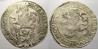Leeuwendaalder 1670 Niederlande-Westfriesland, Provinz  Selten. Übliche Prägeschwäche, sehr schö