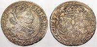 Polen 6 Gröscher 1 Sigismund III. 1587-1632.