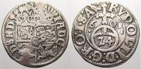 Schleswig-Holstein-Gottorp 1/24 Taler (Groschen) Johann Adolf 1590-1616.