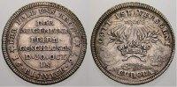 Württemberg Silbermedaille Eberhard Ludwig 1693-1733.