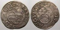 Solms-Lich 2 Kreuzer (Halbbatzen) Ernst I., Eberhard und Hermann Adolf 1588-1590.