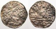 Regensburg, königliche Münzstätte Denar Heinrich III. 3. Periode 1042-1047.