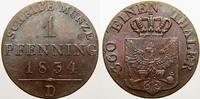 Brandenburg-Preußen Cu Pfennig Friedrich Wilhelm III. 1797-1840.