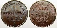 Brandenburg-Preußen Cu Pfennig Friedrich Wilhelm IV. 1840-1861.