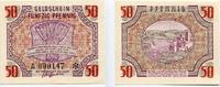 Altdeutsche Staaten und Länderbanken bis 1871 50 Pfennig Deutschland unter alliierter Besatzung 1945-1948.