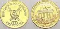 Kamerun 1500 Francs Vereinigte Republik Kamerun seit 1972.