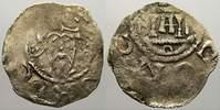 Mainz, Königliche und kaiserliche Münzstätte Pfennig Heinrich III. mit Erzbischof Bardo von Oppershofen 1031-1051.