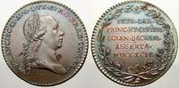 Haus Habsburg Bronzemedaille Franz II. (I.) 1792-1835.