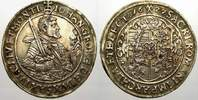 Sachsen-Albertinische Linie 1/2 Reichstaler Johann Georg I. 1615-1656.