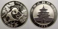 China 10 Yuan (Panda) Volksrepublik seit 1955.