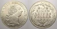 1/3 Taler 1771  A Brandenburg-Preußen Frie...