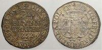 Sachsen-Albertinische Linie 1/24 Taler (Groschen) Friedrich August II. 1733-1763, als August III. König von Polen und Großherzog v