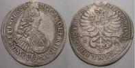 Schlesien-Württemberg-Öls 6 Kreuzer Carl Friedrich von Öls 1704-1744.