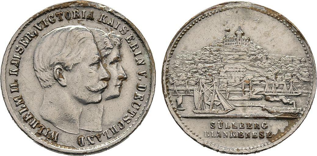 Medaille o.J. (um 1900). Diverse Sehr schön