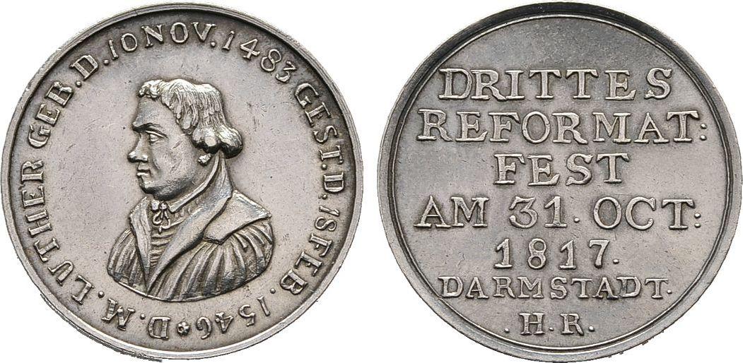 Silberabschlag von den Stempeln des Dukaten 1817, Diverse Vorzüglich