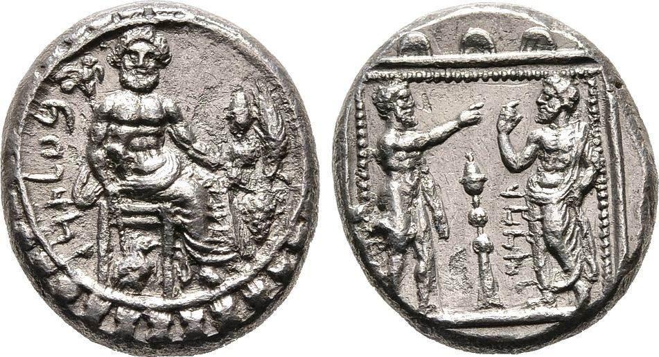 Stater, Kilikien Satrap Datames, 378-372 v. Chr. Sehr schön