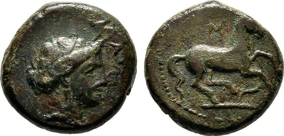 Bronze vor 340 v. Chr. Sizilien Sehr schön