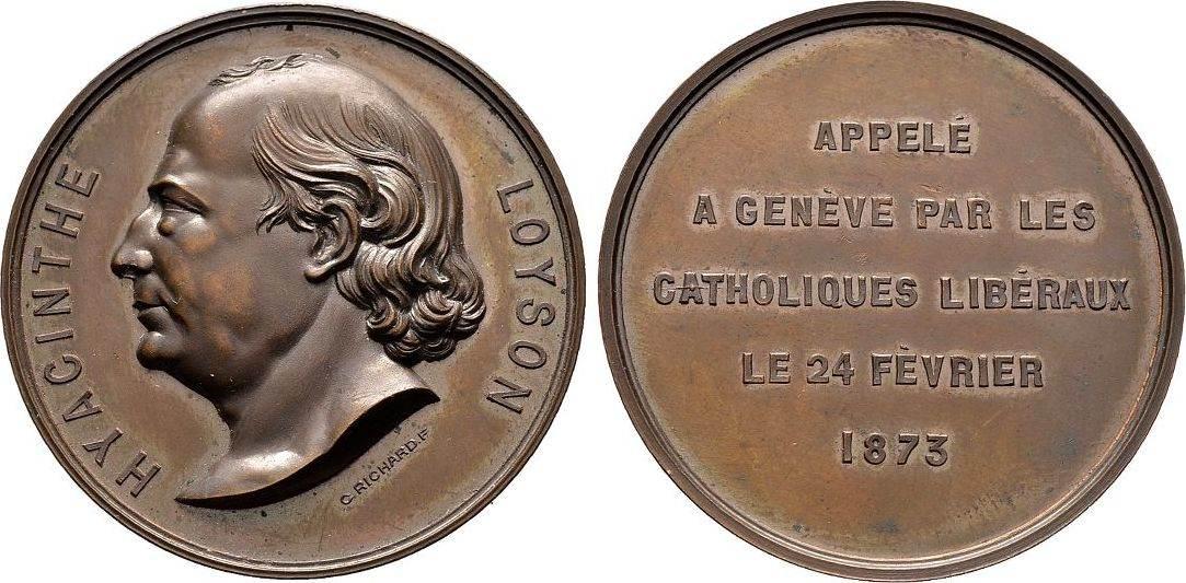 Bronzemedaille 1873, Schweiz Vorzüglich