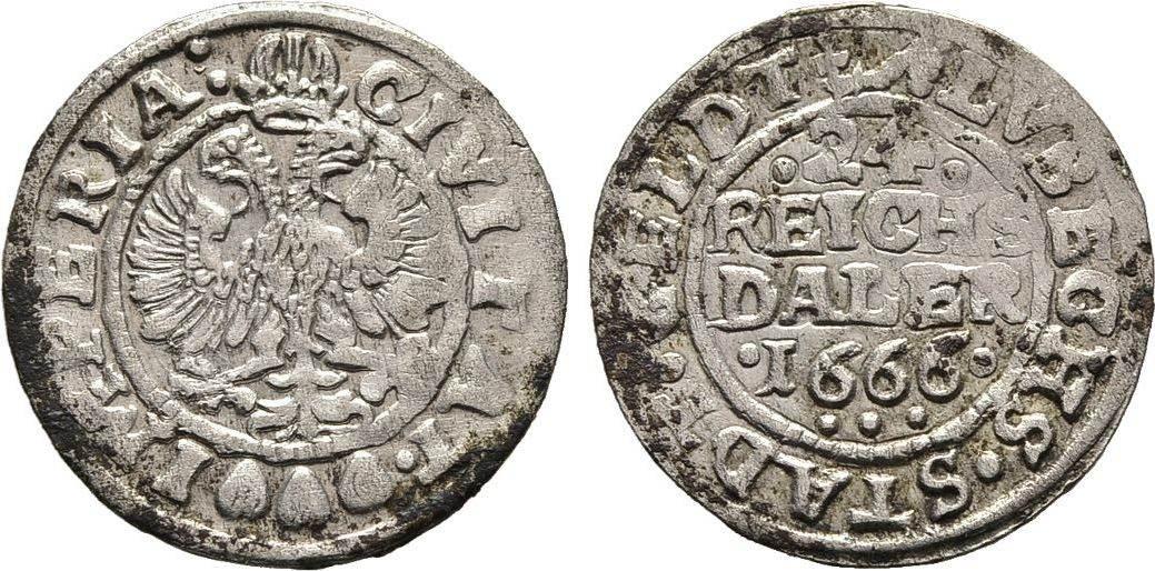 1/24 Reichstaler 1666, Diverse Sehr schön