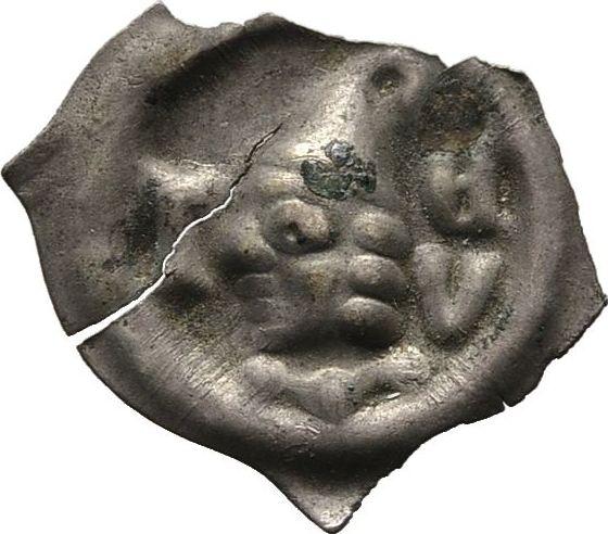 Vierzipfeliger Brakteat, Diverse Um 1350 Sehr schön