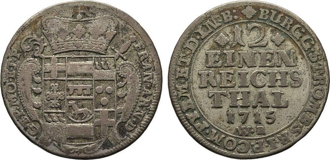 Doppelgroschen 1715. Diverse Franz Arnold von Metternich, 1706-1718 Fast Sehr schön