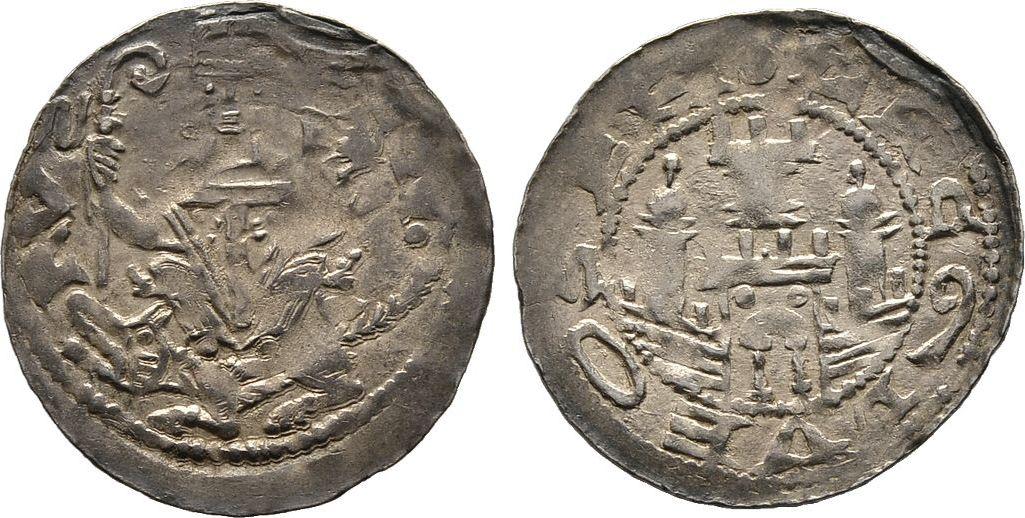 Pfennig Diverse Gerhard von Oldenburg, 1193-1215 Sehr schön