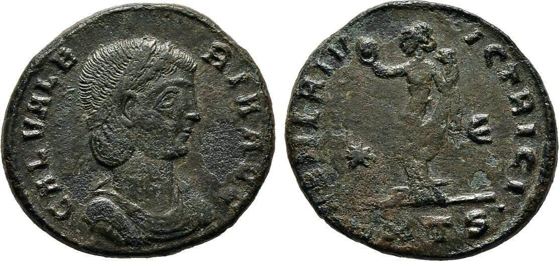 Follis 308/310, Kaiserliche Prägungen Maximianus II. Galerius für Galeria Valeria. Sehr schön