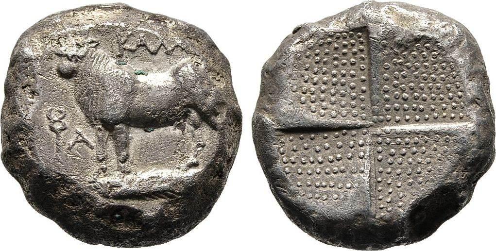 Tetradrachme 387/340 v. Chr. Bithynien Sehr schön