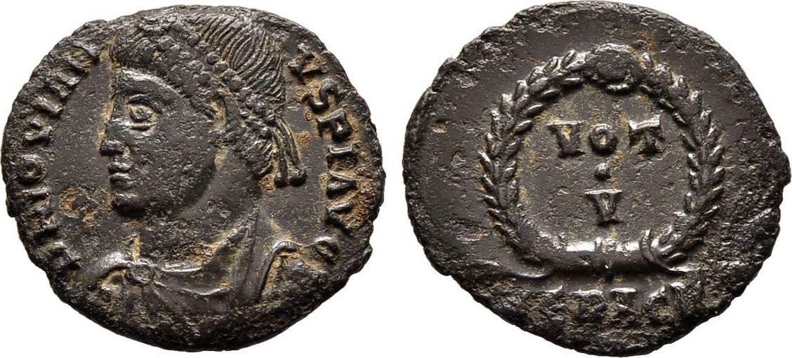 Red. Follis Kaiserliche Prägungen Iovianus, 363-364 Sehr schön