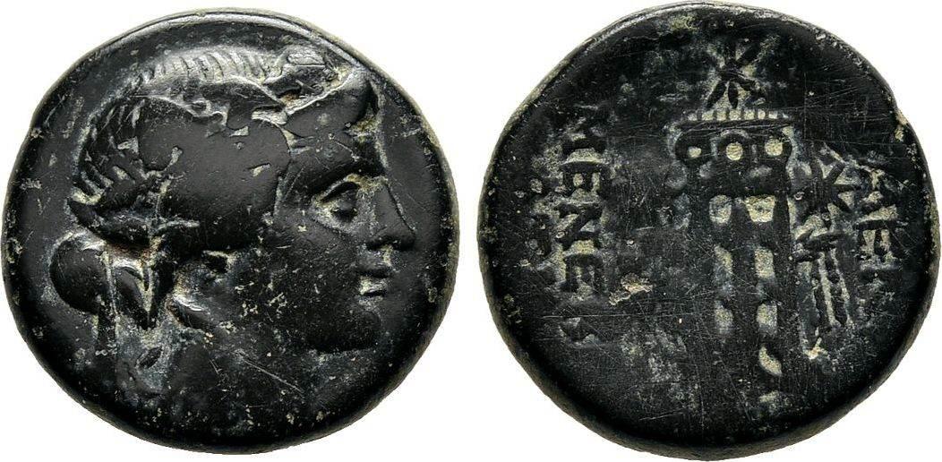 Bronze nach 133 v. Chr. Phrygien Fast sehr schön