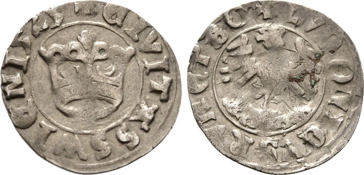 Halbgroschen 1525, Diverse Sehr schön