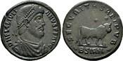 Maiorina,  Kaiserliche Prägungen Julianus Apostata, 361-363. Sehr schön