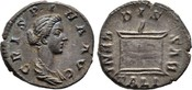 Denar 178/182, Kaiserliche Prägungen Commodus für Crispina. Fast vorzüglich