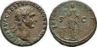 Kaiserliche Prägungen As, Traianus, 98-117.