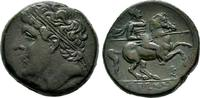 Bronze.  Sizilien Hieron II., 275-216 v. Chr. Dunkelgrüne Patina Sehr s... 175,00 EUR  +  8,00 EUR 运费