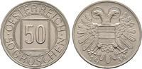 50 Groschen 1934, Diverse Österreich, Bundesstaat, 1934-1938 Vorzüglich  53.48 US$  zzgl. 4.81 US$ Versand