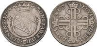 20 Kreuzer 1764. Schweiz  Sehr schön  42.79 US$  zzgl. 4.81 US$ Versand