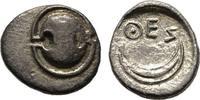 Obol 400/350 v. Chr. Boeotien  Sehr schön  267.42 US$  zzgl. 4.81 US$ Versand