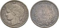 50 Centimes 1850 A, Frankreich  Sehr schön  50,00 EUR  + 6,00 EUR frais d'envoi