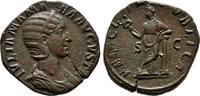 Kaiserliche Prägungen Sesterz Severus Alexander für Julia Mamaea.