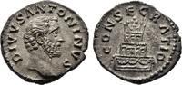 Denar 161, Kaiserliche Prägungen Marcus Aurelius für Divus Antoninus Pi... 200,00 EUR  +  8,00 EUR 运费